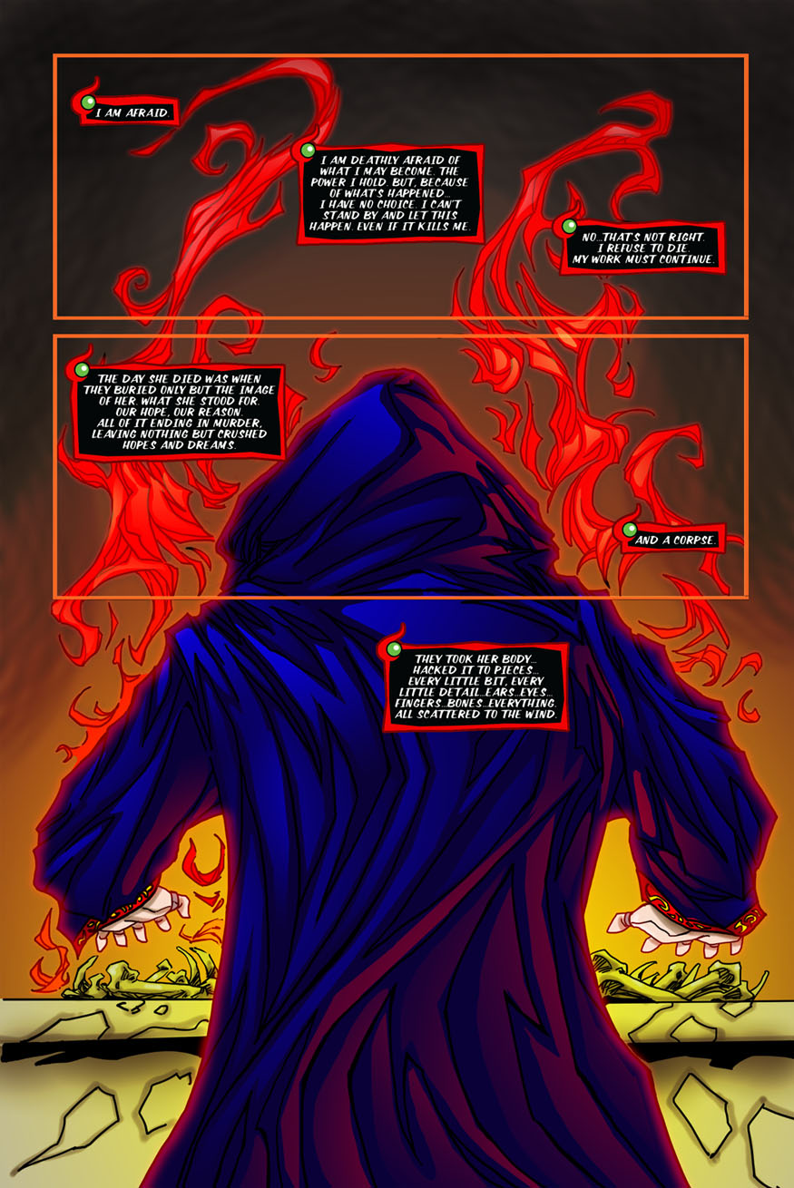 "Beastlore, Issue #1, ""Death Magnetic"" – Page One"
