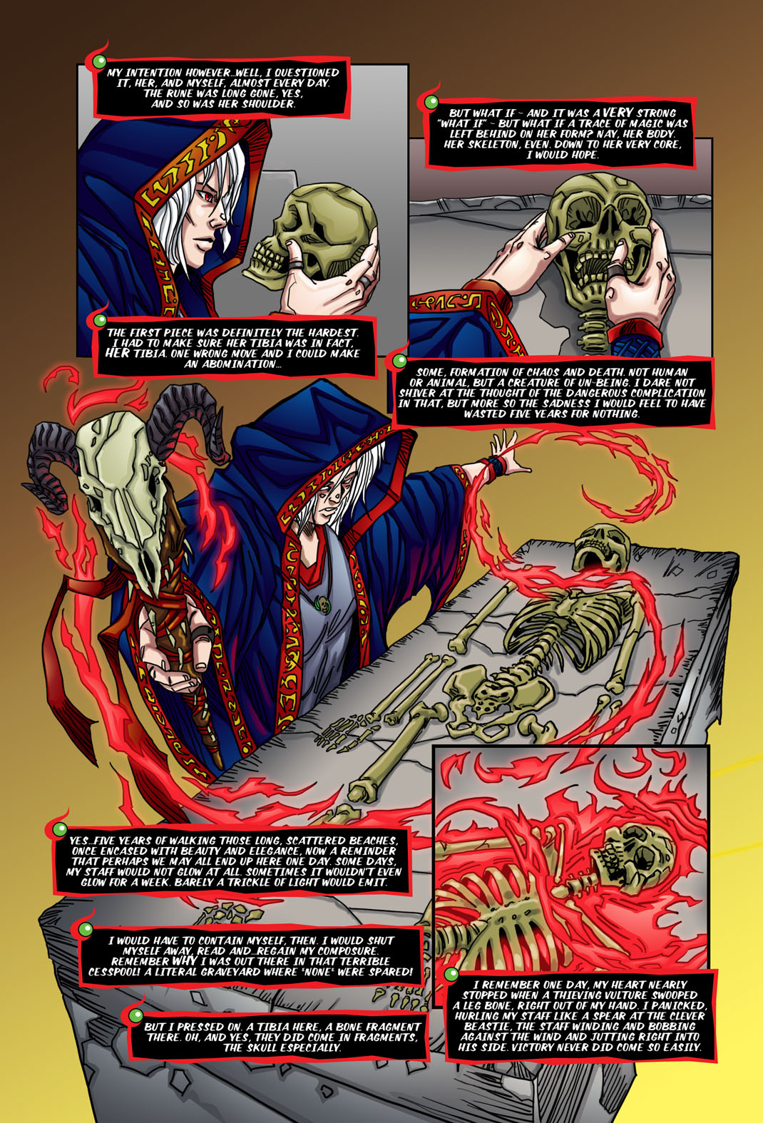 "Beastlore, Issue #1, ""Death Magnetic"" – Page Four"