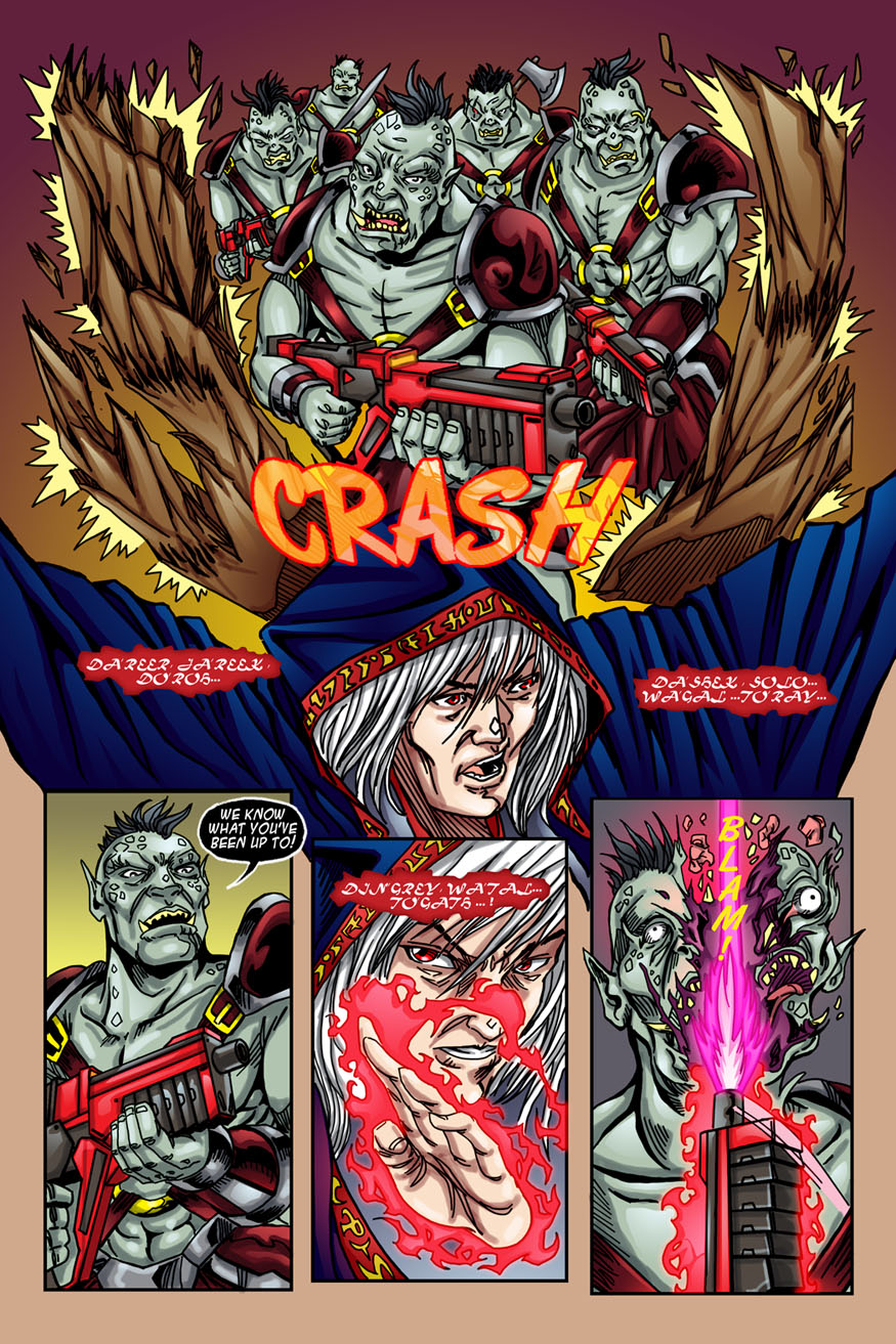 """Beastlore, Issue #1, """"Death Magnetic"""" – Page Six"""