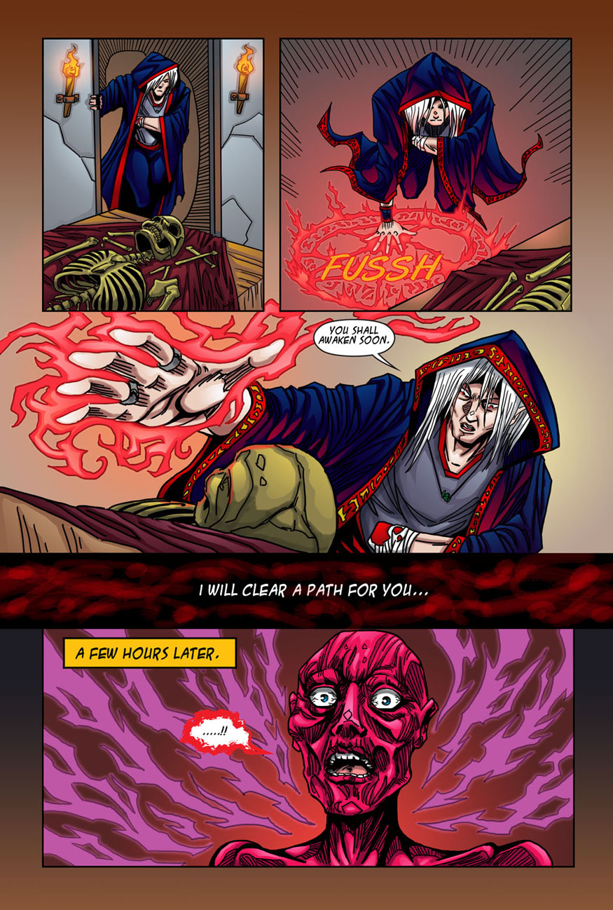 """Beastlore, Issue #1, """"Death Magnetic"""" – Page Nine"""