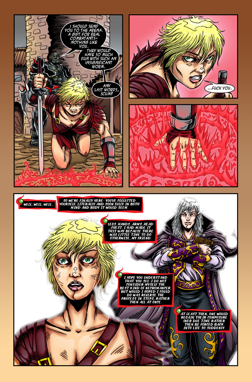 "Beastlore, Issue #1, ""Death Magnetic"" – Page Eighteen"