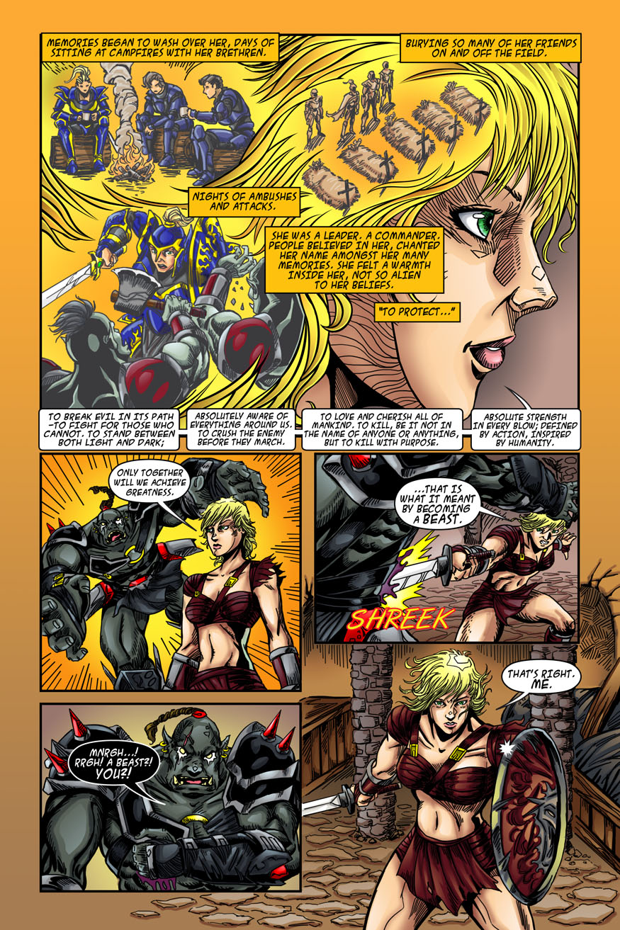 "Beastlore, Issue #1, ""Death Magnetic"" – Page Twenty"