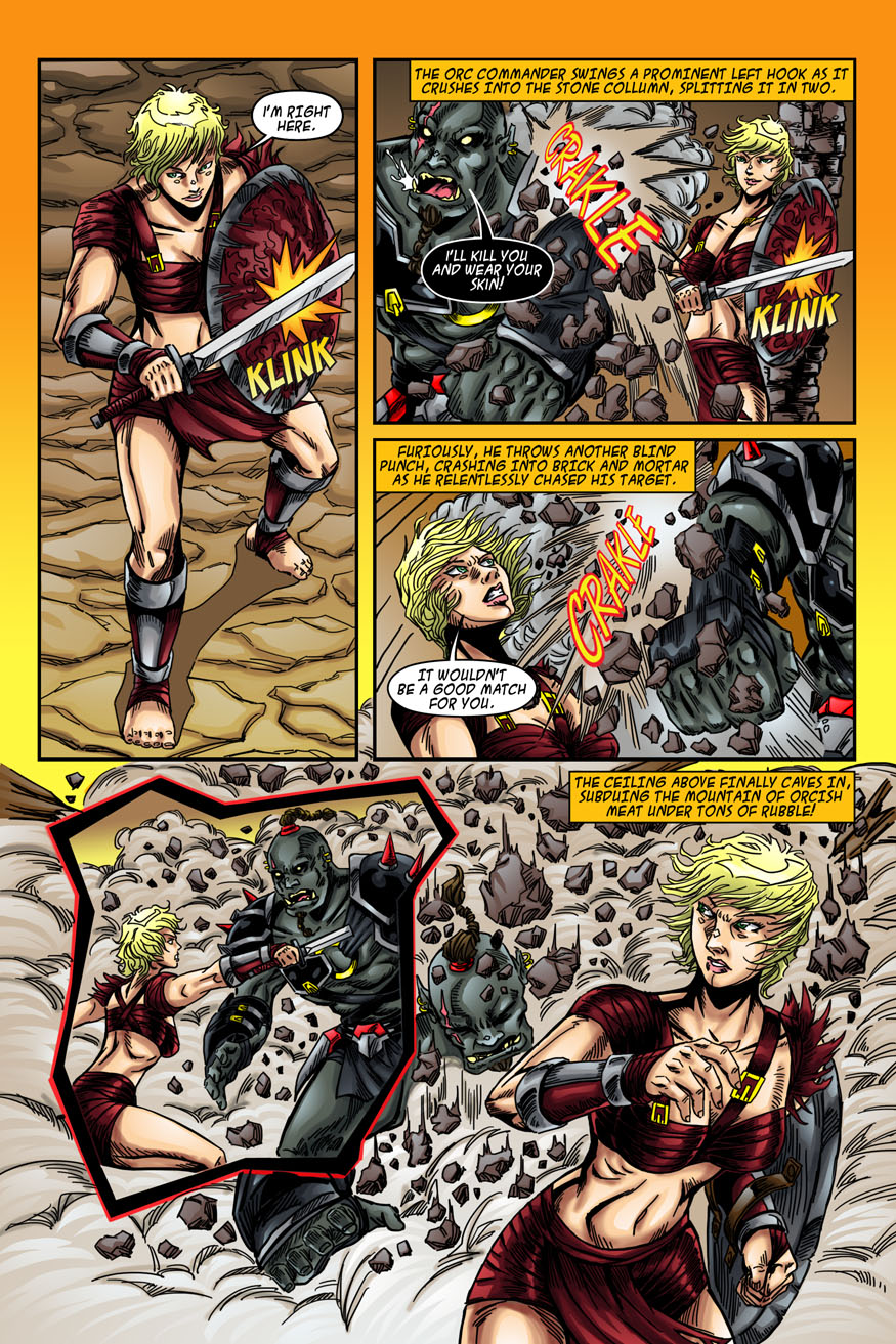 """Beastlore, Issue #1, """"Death Magnetic"""" – Page Twenty One"""
