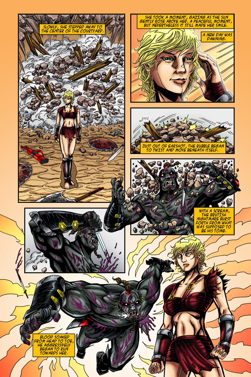 "Beastlore, Issue #1, ""Death Magnetic"" – Page Twenty Two"