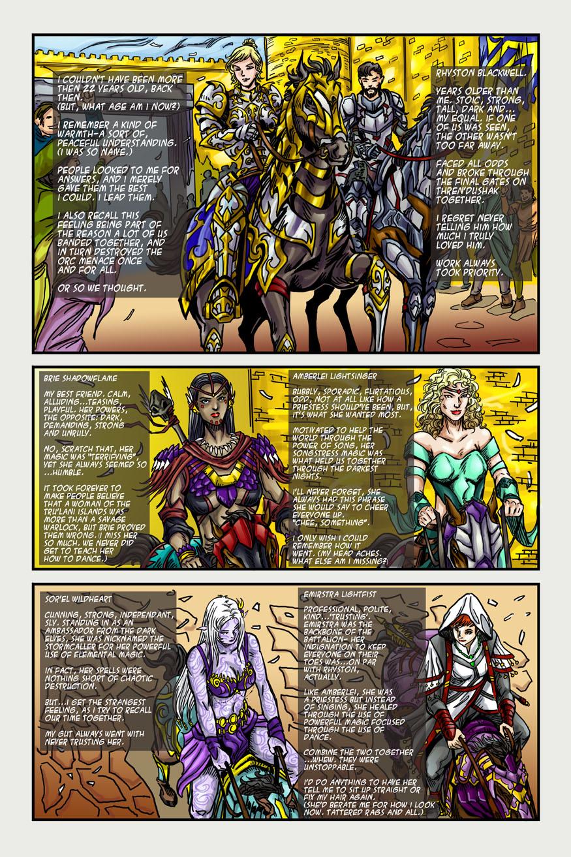 "BeastLore, Issue #2, ""Ride the Lightning"" – Page Three"