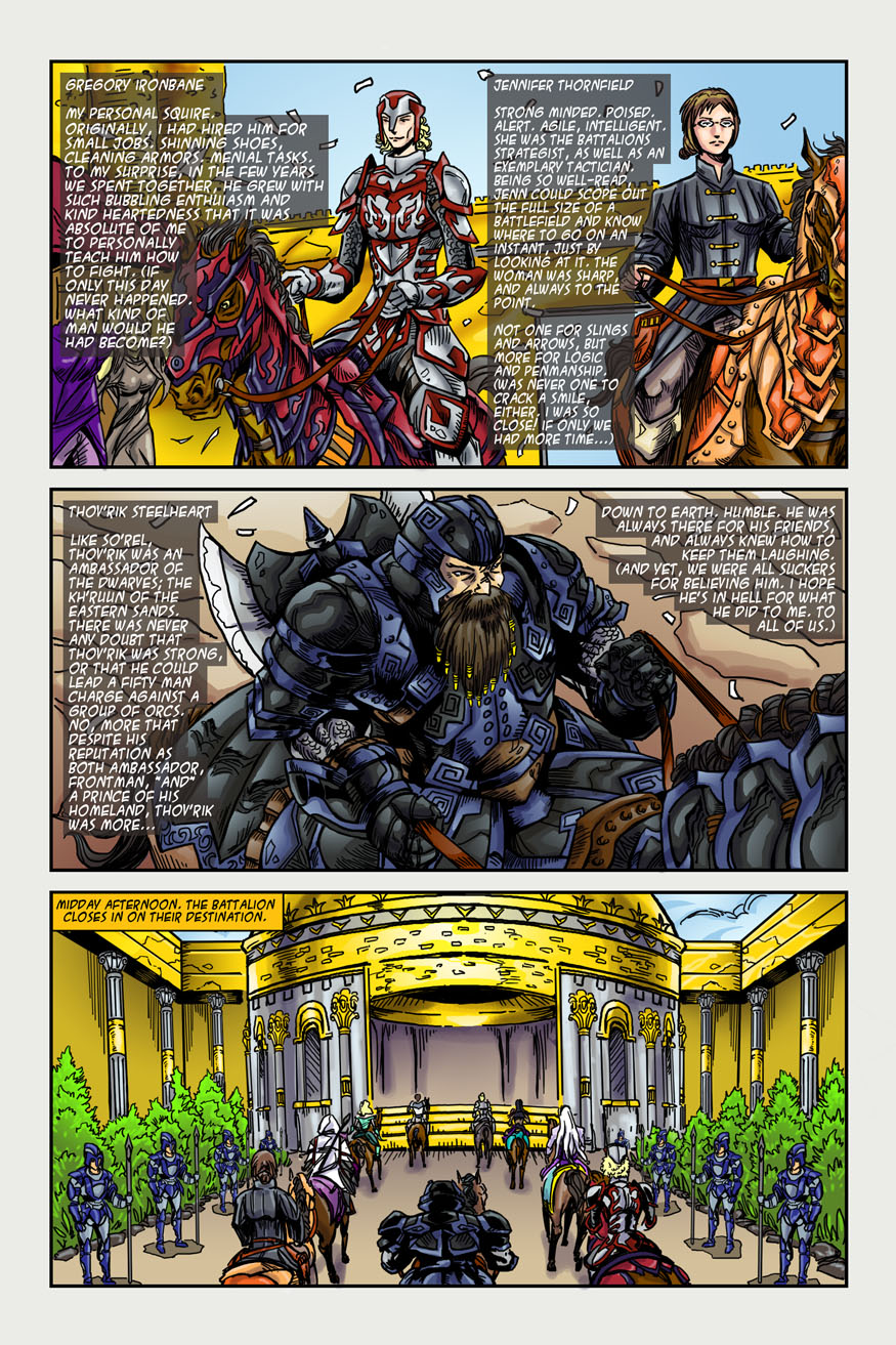 "BeastLore, Issue #2, ""Ride the Lightning"" – Page Four"