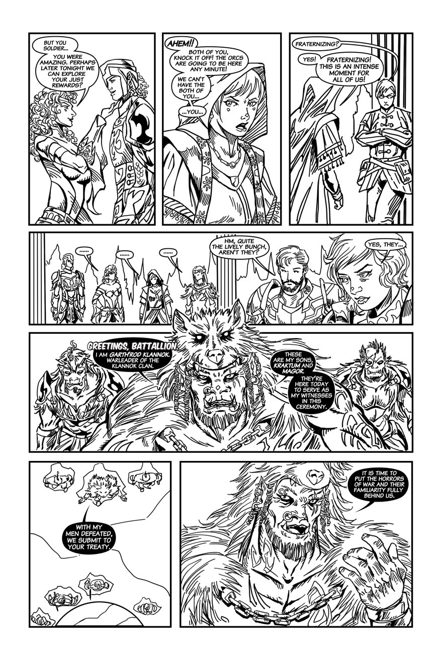"BeastLore, Issue #2, ""Ride the Lightning"" – Page Eight"